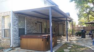 bitters area san antonio attached patio cover carport patio covers