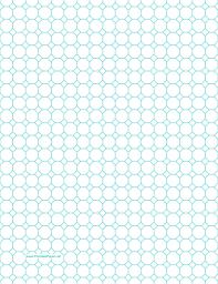 printable octagon graph paper with 1 2 inch spacing on letter