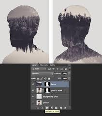 tutorial efek vektor di photoshop make a trendy double exposure effect in adobe photoshop