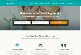 wedding vendor websites 60 best html wedding website templates 2017