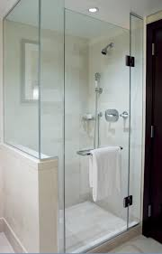curved glass shower door residential shower doors westbury ny cps glass and mirror inc