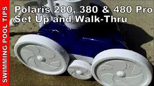 polaris 280 380 u0026 480 pro installation and walk thru youtube