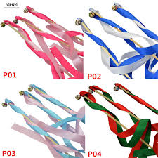 ribbon sticks 10pcs christmas wedding party ornament for home color ribbon wands