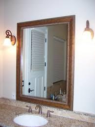diy framed bathroom mirrors large image classic framed bathroom mirrors