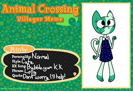 Animal Crossing Villager Meme - animal crossing villager meme by mintyfresh103 on deviantart
