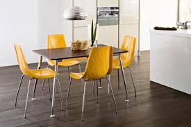 yellow kitchen table and chairs modernize your kitchen with the modern kitchen chairs the new way