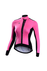 fluorescent cycling jacket monton womens windproof thermal winter cycling jacket for sale