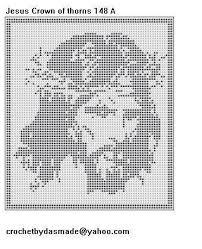 imagenes religiosas a crochet cristo crochet religioso pinterest crochet filet crochet and