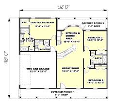 southern style house plans southern style house plan 3 beds 2 00 baths 1500 sq ft plan 44 133
