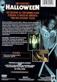 halloween extended tv edition dvd 1978 7 99 buy now raredvds biz