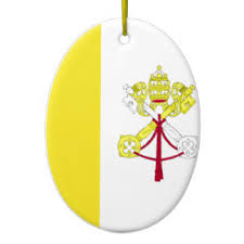 flag of vatican ornaments keepsake ornaments zazzle