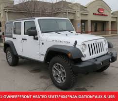 2017 jeep wrangler and wrangler 2017 used jeep wrangler unlimited unlimited rubicon 4wd navigation