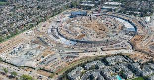 apple u0027s campus 2 spaceship gets off the ground in latest official