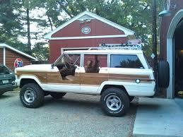 jeep grand wagoneer custom custom half doors for a jeep grand wagoneer for the summer months
