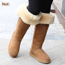 womens size 12 fur lined boots fashion style the knee high bowknot fur lined