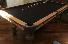 non slate pool table artisan style non slate pool table non slate pool tables