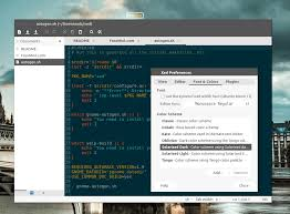 xed text editor a replacement of gedit and pluma