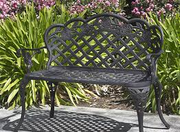 enthrall decorative metal outdoor benches tags cast iron outdoor