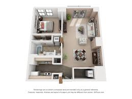 2 bed 2 bath apartment from 1111 old market lofts