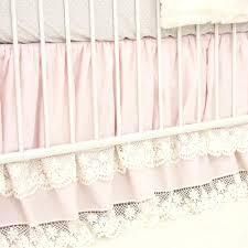 cora u0027s vintage pink linen lace baby bedding swatch kit caden lane