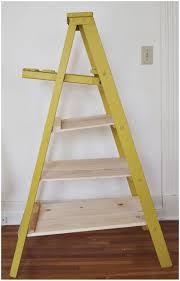Leaning Ladder 5 Shelf Bookcase Leaning Ladder 5 Shelf Bookcase Espresso Brown Wooden Ladder Shelf