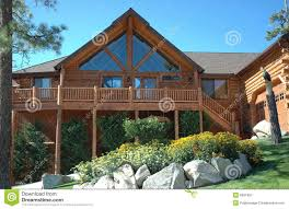 log home styles log cabin style home royalty free stock photography image 6031857