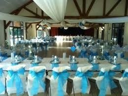 mariage bleu et blanc decoration de salle de mariage bleu et blanc photo de