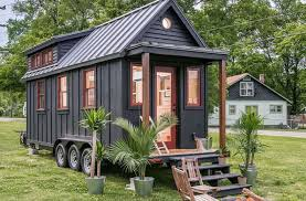Tiny Homes by Towable Riverside Tiny House Packs Every Conventional Amenity Into