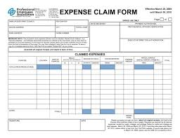expenses claim template 7 expense claim form templates excel