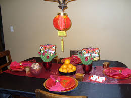 chinese new year home decoration dining room simple diy chinese new year table decorations with