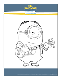 minions colouring maped creatives