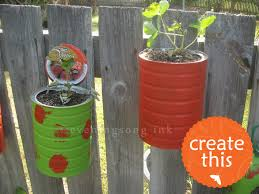 best 20 coffee can planter ideas on pinterest recycled planters