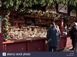 christmas craft market at ludwigsberg germany holiday shoppers