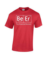 Beer Periodic Table Crazy Bro U0027s Tees Beer Beer Periodic Table Of Elements Funny
