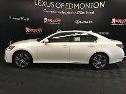 lexus gs 350 model 2017 pre owned 2017 lexus gs 350 tour of alberta 4 door car in edmonton