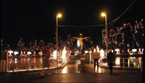 dana morris la salette shrine christmas display