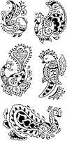 100 henna tattoo designs free printable here is a free page