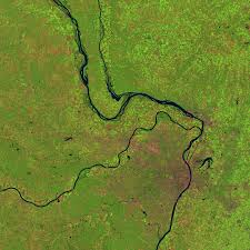 Illinois Flooding Map by Great Flood Of The Mississippi River 1993 Image Of The Day