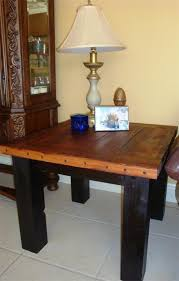 reclaimed wood end table reclaimed wood furniture