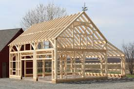 Barn Roof Styles by Pole Barns 20 Carriage Barn Bethel Ct 3d Timber Frame 22 X 32