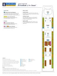 freedom of the seas deck plans v2015 may bedroom leisure