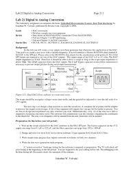 lab 21 digital to analog converter capacitor