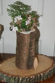 Diy Vase Decor 14 Diy Wooden Stump Vases That Simplicity Defining Beauty In House