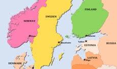 map of europe scandinavia physical map of scandinavia sweden finnland denmark