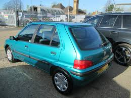 used peugeot 106 used peugeot 106 1 4 litre for sale rac cars