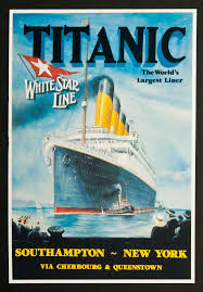 titanic and nomadic mugs and plates