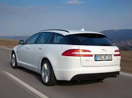 images jaguar xf sportbrake white motion back view automobile