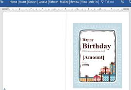 fun certificate templates birthday gift certificate card template for word