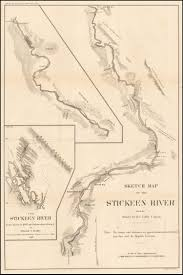 Montana River Map by Sketch Map Of The Stickeen River From The Mouth To The Little