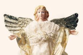 angel christmas tree topper why are all the christmas tree toppers white and